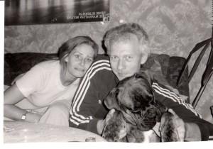 Anna Gjern Andersens forældre. Privatfoto